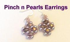 Pinch n Pearl Earrings