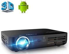 Shop APEMAN Portable Mini DLP Video Projector, Android Pico Pocket HD Bluetooth Built-in WI-FI, Ideal for Home Cinema Short Throw Smartphone Projector. Theater Room Decor, Home Theater Setup, Best Home Theater, Home Theater Speakers, Home Cinema Projector, Pico Projector, Home Theater Projectors, 3d Video, Video Home