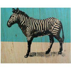wood zebra print Spitfire Girl