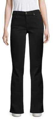 7 For All Mankind Bair Bootcut Jeans Pajama Pants, Pajamas, Suits, Jeans, Cotton, Women, Fashion, Pjs, Moda