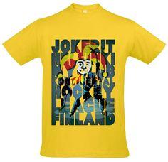 Футболка с принтом The Finland Jokerit is my club