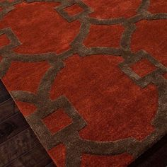 Enzo Rug in Red Oxide