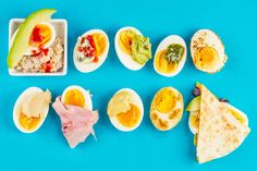 Ten sexy, spicy, flavor-jammed ways for better snacking, thanks to the tiny yet mighty hard-boiled egg.