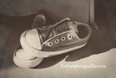 For the Hipster, Punk or Retro baby (boy or girl) Makes great baby shower gift for moms to be!! Nursery Room Decor Title Baby Kicks 8x10 by HorseshoeGalleries, $20.00  #chucks #converse #shoes