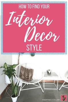 Struggling to find your interior decor style? Overwhelmed by all the different design styles? Feel like you love them all?! Click through to 5 simple steps to help you find your individual interior decor style, to make your home your own.
