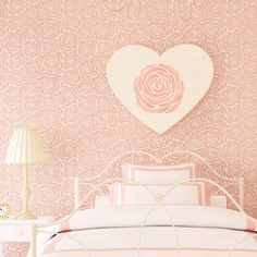 Roses Allover Stencil - Large - DIY wall design - Better than wallpaper! - Stencils for DIY wall décor sold by Cutting Edge Stencils. Shop more products from Cutting Edge Stencils on Storenvy, the home of independent small businesses all over the world. Rose Stencil, Stencil Wall Art, Stencil Decor, Wall Stencil Patterns, Wallpaper Stencil, Leaf Stencil, Stencil Designs, Flower Stencils, Tile Stencils