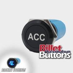 19mm 'CUSTOM LASER ETCHING' Design Your Own Billet Push Button Switch Car Audio Installation, Alfa Romeo, Types Of Buttons, Bold Fonts, Black N White Images, Transportation Design, Colour Images, Concept Cars