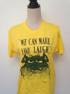 Vintage Comedy Cartoon Tshirt by 21Vintage on Etsy, $15.00