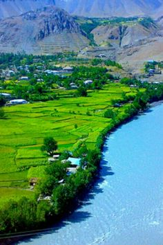 Ayun village is located in Chitral district, Khyber Pakhtunkhwa, Pakistan, 12 km south of the town of Chitral. It is located on the Chitral River at its confluence with the Bumburet River. Mountains surround the village.