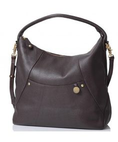 PacaPod Leather Nappy Bag Jasper - Chocolate 40e8e4c10c0