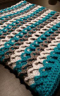 Ravelry: mdcolleenm's Irish Sea Blanket