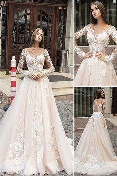Elegant wedding dress Mermaid wedding dress Sweetheart Lace Appliques wedding dress long sleeves Wedding Dresses is part of Modern wedding dress inch 3 Shipping time rush order within 15 days to a - Long Sleeve Bridal Dresses, White Bridal Dresses, Lace Wedding Dress With Sleeves, Wedding Dresses 2018, Applique Wedding Dress, Sweetheart Wedding Dress, Long Sleeve Wedding, Elegant Wedding Dress, Dress Lace