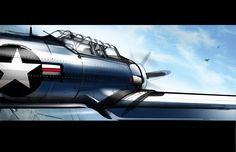 Awesome. Aircraft by Aaron Hughes