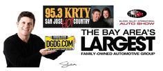 95.3 KRTY San Jose's Hot Country and Del Grande Dealer Group Fans: Check out the delirious comedy of Greg and Julie Friday January 11th at 7AM when they have www.dgdg.com President, Shaun Del Grande Live on the air from this years 2013 Silicon Valley International Auto Show.   We look forward to seeing all of you this weekend at the San Jose McEnery Convention Center; Site of this year's 2013 Silicon Valley International Auto Show.