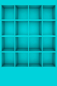 Blue Shelves Pictures Wallpapers For iPhone4