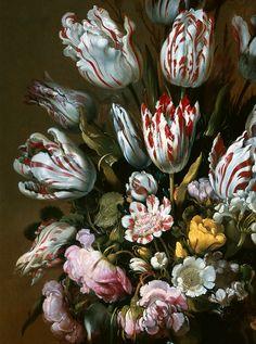 """slojnotak: """"Hans Bollongier - Floral Still Life (1639) """""""