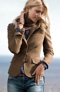 tweed blazer For layering on those cold Miami days (hey, they happen!)
