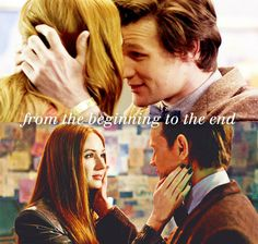 Amy Pond + The Doctor...Doctor Who .. :)... http://www.pinterest.com/cwsf2010/doctor-who