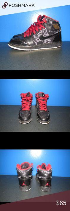 size 40 fa647 ec6e6 Air Jordan 1 4.5Y Womens Size 6 Hall of Fame Bred - Nike Air Jordan