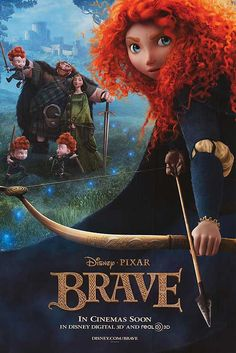 Brave.  Disney has really outdone itself with this one. Amazing story, amazing movie. Very touching!