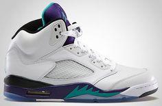 Release Date: Air Jordan 5 Retro Grape