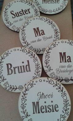 Wedding Badges #myeienessie