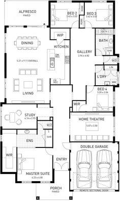 new hampton single storey home design master floor plan wa. beautiful ideas. Home Design Ideas