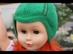 Căciuliță tricotată copiii - YouTube