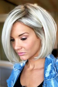 Consider short bob hairstyles if change is what you seek. It is always fun to t
