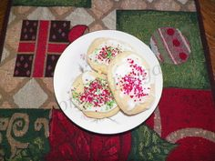 Homemade Soft Sugar #Cookie and Icing #Recipe Baking with the grandchildren.