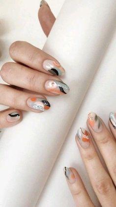 Minimalist Nails, Gel Nails, Acrylic Nails, Nail Polish, Nail Art Designs, Jolie Nail Art, Nagellack Trends, Pretty Nail Art, Nagel Gel