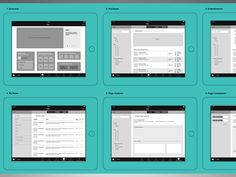 Wireframing on Behance