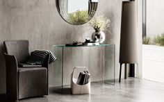LUNE Mirror by Calligaris - Via Designresource.co