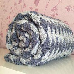 Kat Kat Katoen: Wollige woondeken - gratis patroon! Merino Wool Blanket, Crochet Patterns, Plaid, Crafty, Blog, Blankets, Mosaic, Blanket Crochet, Tweed