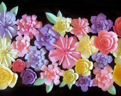 De papel colección de flores flores de papel por LittleRetreats