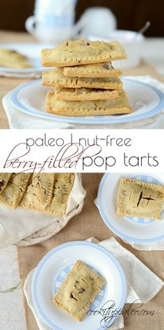 Paleo Pop Tarts are made with Otto's Naturals Cassava Flour and are the perfect breakfast treat.