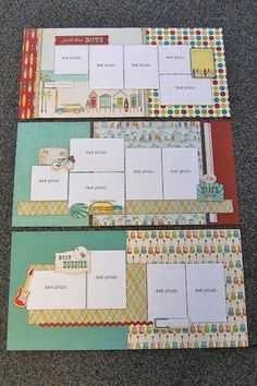 #scrapbooking #page #layout by clara
