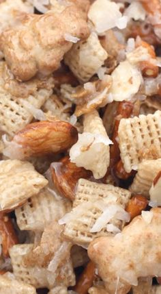 Almond Coconut Chex Mix.