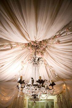 Irish lace tent