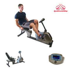 RECUMBENT EXERCISE BIKE Fitness Workout Stationary For Home Gym Equipment Rehab #Velocity