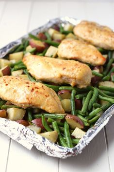 Healthy Ideas: Literally one of our FAVORITE dinners!!