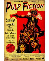 Image result for pulp fiction fan poster