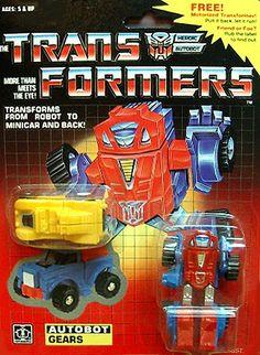 Gears (My 1st Transformer)
