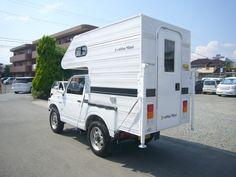 Mini Camper, Off Road Camper, Truck Camper, Camper Van, Car Trailer, Trailers, Small Motorhomes, Suzuki Jimny, Mini Trucks