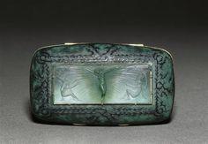 Art Nouveau master glass designer. Rene Lalique. Nymph Brooch | JV