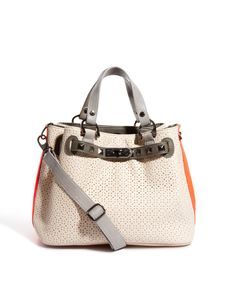 Paul's Boutique Savanna Perforated Stud Detail Bag