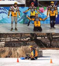 Running Man Ep 184 the Winter Olympics