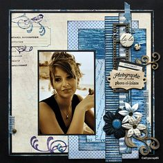 scrapbook layout using strips of paper Scrapbook Layout Sketches, Scrapbook Titles, Kids Scrapbook, Scrapbook Journal, Wedding Scrapbook, Scrapbook Paper Crafts, Scrapbooking Layouts, Scrapbook Cards, Scrapbook Designs