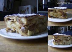 Francúzske toastové pikantné pečené jablká