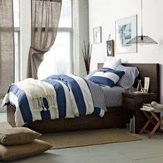 West Elm offers modern furniture and home decor featuring inspiring designs and colors. Create a stylish space with home accessories from West Elm. Bed Frame With Storage, Bed Storage, Bedroom Storage, West Elm, Platform Bed Frame, Upholstered Beds, Headboards For Beds, Home Bedroom, Bedroom Suites